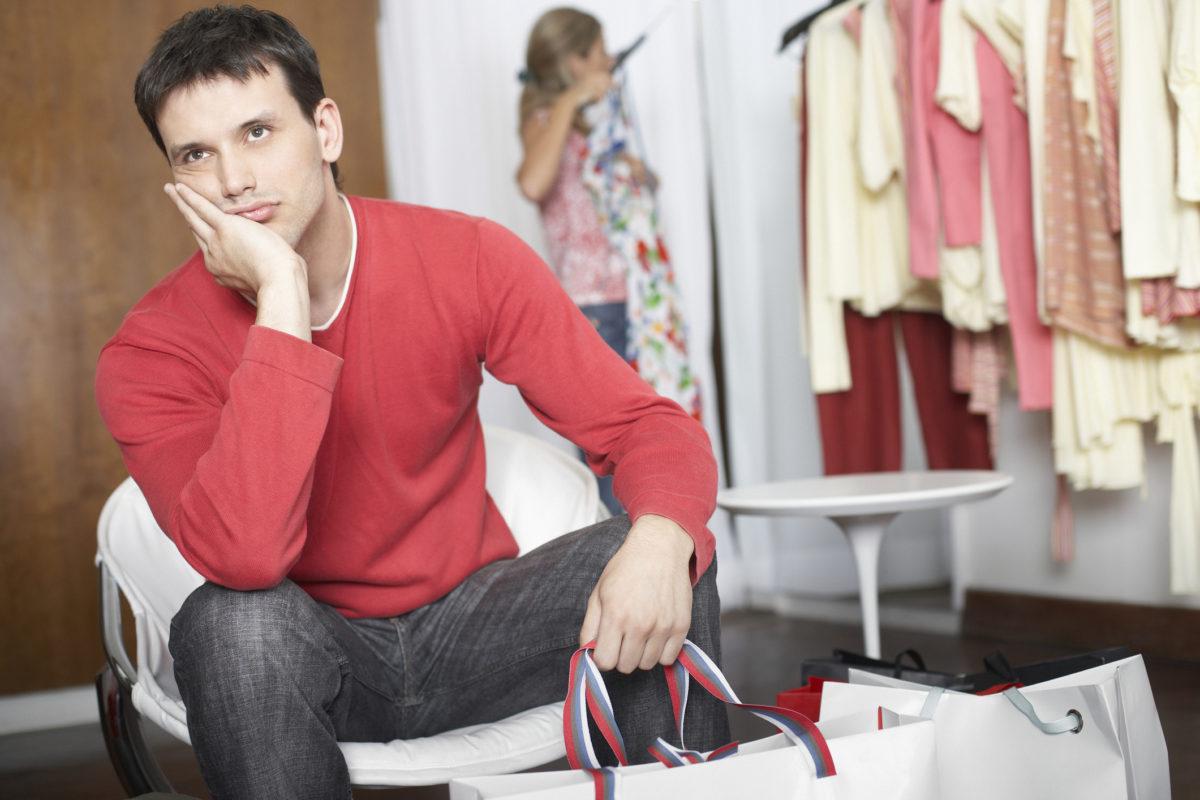 why do women like to shop